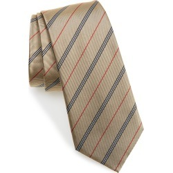 Men's Burberry Manston Stripe Silk Tie, Size One Size - Yellow found on Bargain Bro India from Nordstrom for $190.00