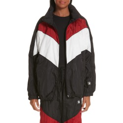 Women's Alexander Wang Windbreaker Jacket, Size Medium - Black found on Bargain Bro India from Nordstrom for $760.75