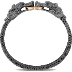 Men's John Hardy Legends Naga Hammered Double Dragon Head Bracelet found on Bargain Bro India from Nordstrom for $1450.00