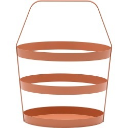 Design On Stock Usa Basket, Size One Size - Pink