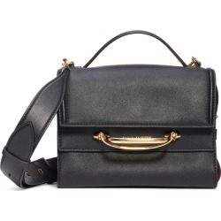 Alexander Mcqueen Small Double Flap Leather Shoulder Bag - Black found on Bargain Bro India from LinkShare USA for $2190.00