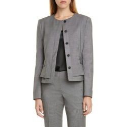 Women's Boss Jasyma Wool Jacket, Size 6 - Grey found on Bargain Bro Philippines from Nordstrom for $495.00