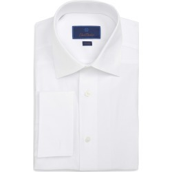 Men's David Donahue Trim Fit Formal Dress Shirt found on MODAPINS from Nordstrom for USD $155.00