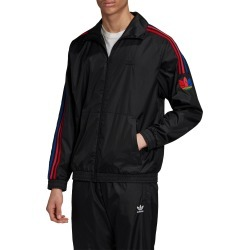 Men's Adidas Originals Men's 3D Trefoil 3-Stripes Track Jacket, Size Large - Black found on MODAPINS from Nordstrom for USD $80.00