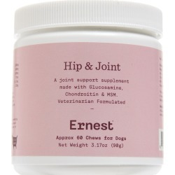 Ernest Hip & Joint Dog Supplements, Size One Size - Pink found on Bargain Bro Philippines from LinkShare USA for $18.00