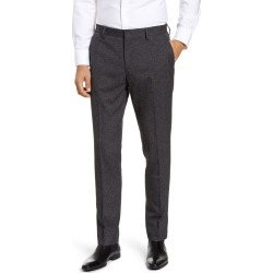 Men's Nordstrom Men's Shop Flat Front Stretch Chino Pants, Size 36 x 32 - Grey found on Bargain Bro Philippines from Nordstrom for $44.75