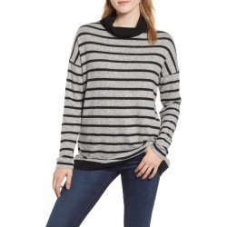 Women's Gibson Cozy Turtleneck, Size X-Small - Grey found on MODAPINS from Nordstrom for USD $59.00