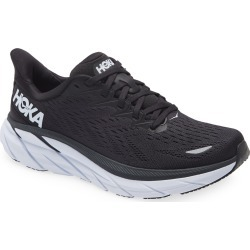Women's Hoka One One Clifton 8 Running Shoe, Size 6.5 D - Black found on Bargain Bro Philippines from Nordstrom for $130.00