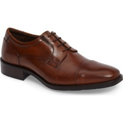 Men's Johnston & Murphy Lancaster Cap Toe Derby, Size 8.5 M - Brown found on Bargain Bro India from Nordstrom for $139.00