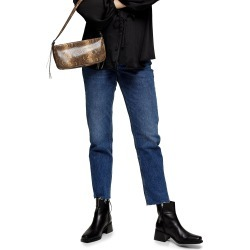 Women's Topshop Over The Belly Straight Leg Maternity Jeans found on MODAPINS from Nordstrom for USD $80.00