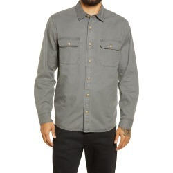 Men's Pendleton Beach Shack Button-Up Shirt, Size Large - Black found on MODAPINS from Nordstrom for USD $89.50