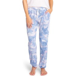 Women's Pj Salvage Marble Print Lounge Joggers, Size X-Large - Blue found on Bargain Bro Philippines from Nordstrom for $60.00