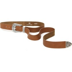 Women's B-Low The Belt Royal Leather Western Belt, Size Small - Cognac/ Silver found on Bargain Bro India from Nordstrom for $138.00