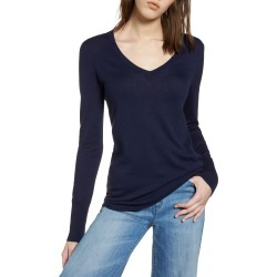 Women's Halogen Cotton Blend V-Neck Sweater found on MODAPINS from Nordstrom for USD $29.40