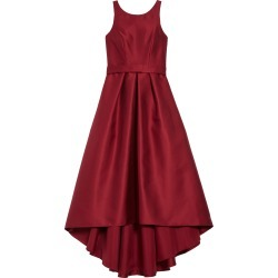 Girl's Dessy Collection High/low Junior Bridesmaid Dress, Size 8 - Burgundy found on MODAPINS from Nordstrom for USD $221.00