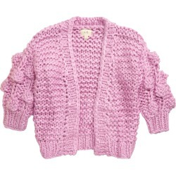 Toddler Girl's En Elly Pom Detail Cardigan, Size 2-3T - Pink found on Bargain Bro Philippines from Nordstrom for $58.00
