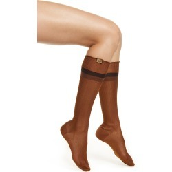 Women's Fendi Ribbed Knee High Socks found on MODAPINS from Nordstrom for USD $230.00
