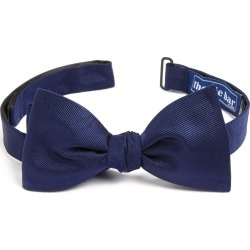 Men's The Tie Bar Silk Solid Bow Tie, Size One Size - Blue found on Bargain Bro India from Nordstrom for $19.00