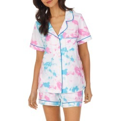 Women's Bedhead Pajamas Classic Organic Cotton Short Pajamas, Size X-Small - Blue found on MODAPINS from Nordstrom for USD $98.00