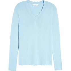 Women's 1901 Scallop Trim V-Neck Sweater found on MODAPINS from Nordstrom for USD $35.40