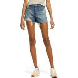 Women's Ag Alexxis High Waist Cutoff Denim Shorts, Size 24 - Blue found on Bargain Bro India from Nordstrom for $168.00