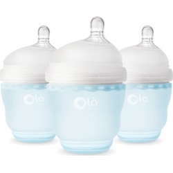 Infant Olababy 3-Pack Gentlebottle 4-Ounce Baby Bottles
