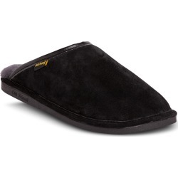Men's Old Friend Genuine Shearling Lined Scuff Slipper, Size Large - Black found on Bargain Bro from Nordstrom for USD $53.16