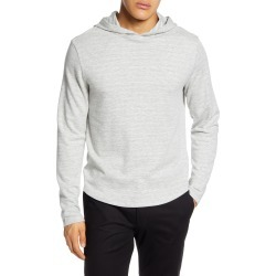 Men's Vince Slubbed Pullover Hoodie, Size Large - Grey