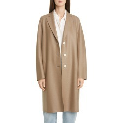 Women's Harris Wharf London Pressed Wool Coat, Size 6 US - Brown found on Bargain Bro Philippines from LinkShare USA for $193.50