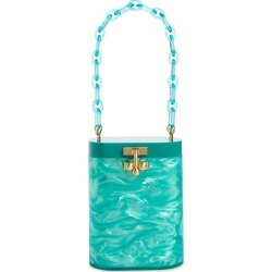 Edie Parker Oval Acrylic Bucket Bag - Green found on MODAPINS from Nordstrom for USD $1195.00