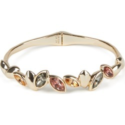 Women's Alexis Bittar Navette Crystal Break Hinge Bracelet found on Bargain Bro Philippines from Nordstrom for $225.00