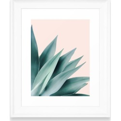 Deny Designs Agave Flare Ii Art Print, Size One Size - Green
