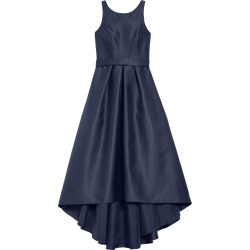 Girl's Dessy Collection High/low Junior Bridesmaid Dress, Size 10 - Black found on MODAPINS from Nordstrom for USD $221.00