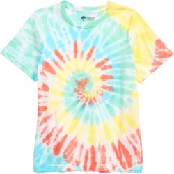 Toddler Boy's Tucker + Tate Kids' Relaxed Tie Dye T-Shirt, Size 3T - Orange found on Bargain Bro Philippines from Nordstrom for $19.00