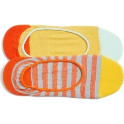 Women's Hysteria By Happy Socks 2-Pack Claudia No-Show Socks, Size 9/11 - Orange found on MODAPINS from Nordstrom for USD $18.00