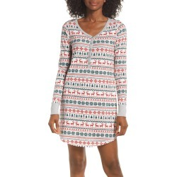 Women's Nordstrom Lingerie Sleepyhead Thermal Nightshirt