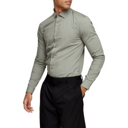 Men's Topman Stretch Button-Up Shirt found on MODAPINS from LinkShare USA for USD $30.00