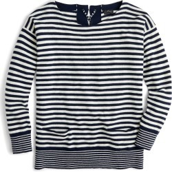 Women's J.crew Tie-Back Cashmere Pullover Sweater