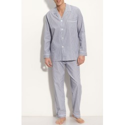 Men's Majestic International Cotton Pajamas, Size Large - Blue found on MODAPINS from Nordstrom for USD $70.00