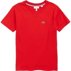 Toddler Boy's Lacoste V-Neck T-Shirt, Size 2Y - Red found on Bargain Bro India from Nordstrom for $35.00
