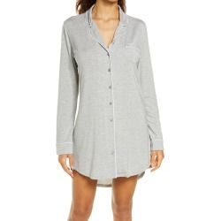 Women's Nordstrom Lingerie Moonlight Nightshirt, Size Large - Grey found on MODAPINS from Nordstrom for USD $49.00