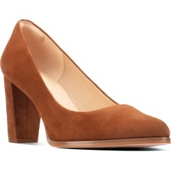 Women's Clarks Kaylin Cara Pump, Size 10 M - Brown