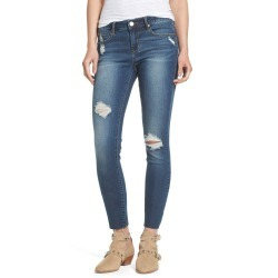 Women's Articles Of Society Sarah Jeggings, Size 24 - Blue
