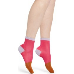 Women's Hysteria By Happy Socks Liza Colorblock Socks, Size 9/11 - Pink found on MODAPINS from Nordstrom for USD $18.00