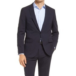Men's Boss Novan Check Wool Sport Coat, Size 40 Short - Blue found on MODAPINS from Nordstrom for USD $345.00