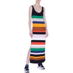 Women's Akris Punto Multicolor Stripe Tank Sweater Dress, Size 2 - Yellow found on MODAPINS from Nordstrom for USD $1190.00