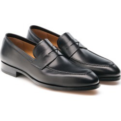 Men's Magnanni Rolly Apron Toe Penny Loafer, Size 9.5 M - Black found on Bargain Bro from Nordstrom for USD $300.20