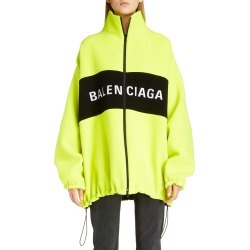 Women's Balenciaga Logo Wool Blend Jacket found on Bargain Bro India from LinkShare USA for $1890.00