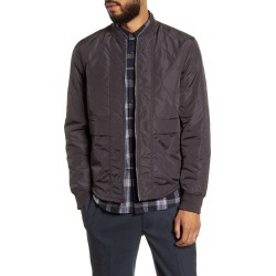 Men's Club Monaco Slim Fit Quilted Jacket, Size X-Large - Grey found on Bargain Bro Philippines from Nordstrom for $99.25