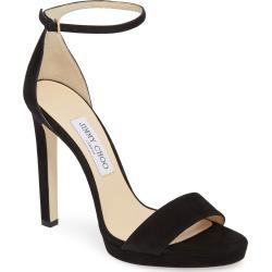 Women's Jimmy Choo Misty Platform Sandal, Size 6.5US / 36.5EU - Black found on Bargain Bro Philippines from Nordstrom for $695.00